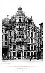 Datei gesch ftshaus des generalanzeigers der stadt frankfurt am main architekt h von hoven - Architekt frankfurt am main ...