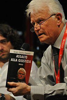 Gian Carlo Caselli al Festival internazionale del giornalismo 2012.