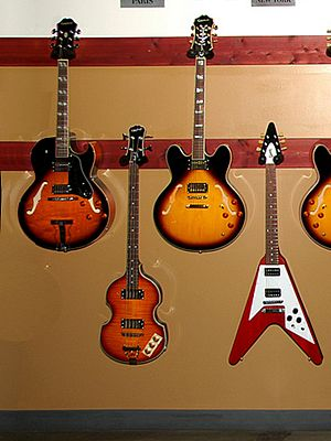 Gibson Guitar Center Showroom, Austin, Texas E...