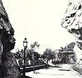 Gigantic stone portals guaring the entrance to the driveway on the cerro de Santa Lucia.jpg