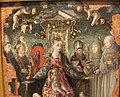 Giorgio schiavone, madonna col bambino tra santi e committenti, 04.JPG