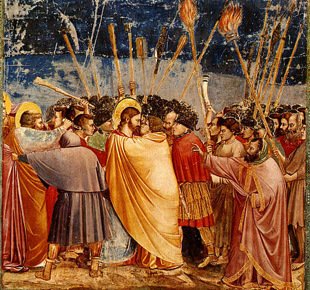 http://upload.wikimedia.org/wikipedia/commons/thumb/b/ba/Giotto-KissofJudas.jpg/450px-Giotto-KissofJudas.jpg