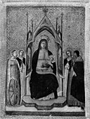 Giotto di Bondone (Ambrogio Bondone Giotto) - Virgin and Child Enthroned with Four Saints - 03.566 - Museum of Fine Arts.jpg