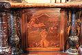 Giovan Francesco Capoferri su dis. di lorenzo lotto, tarsia con busto di venere tra rose sfiorite, giovane in bilico e occhiali, 1527-31.JPG