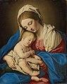Giovanni battista salvi called sassoferrato madonna and child d6272789052951).jpg