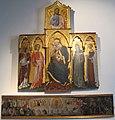 Giovanni di paolo, madonna col bambino e santi, giudizio universale 01.JPG