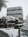 Glanvilles Tower in the Snow - geograph.org.uk - 754070.jpg
