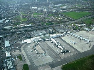 Glasgow Airport international airport in Scotland
