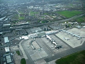 Glasgow Airport - Image: Glasgow Airport From Air