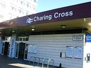 Charing Cross (Glasgow) railway station - Image: Glasgow Charing Cross station exterior