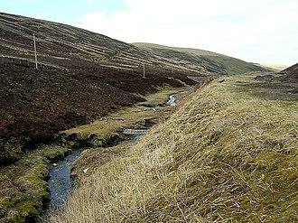 Leadhills - Glengonnar Water near Leadhills