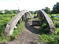 Gliwice, most Górnośląskich Kolei Wąskotorowych nad Kłodnicą w pobliżu ul. Panewnickiej (3).JPG