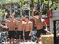 Go-go boys em parada em São Francisco.jpg