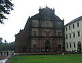 Goa - Basilica of Bom Jesus, views inside and around6.JPG