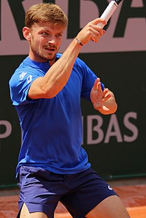 David Goffin Belgian tennis player