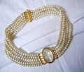 Gold and pearls neckband.JPG