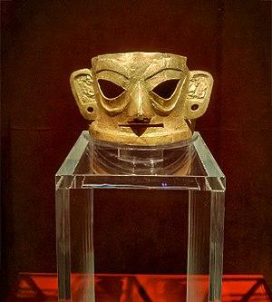 Jinsha site - Image: Golden Mask in Jinsha Site Museum