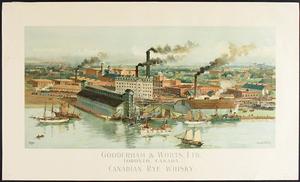 Gooderham and Worts - Gooderham and Worts distillery complex