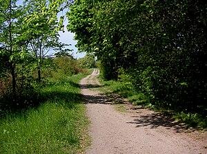 Göta highway - Göta highway, Årsta field