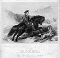 Gottfried Engelmann (1788-1839), Lord Cosmo Russell, Lithographie nach Landseer, D2386-6.jpg