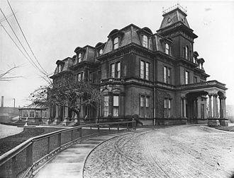 Government House (Ontario) - The third Government House in 1908.