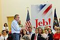 Governor of Florida Jeb Bush at TurboCam, Barrington, New Hampshire on August 11th by Michael Vadon.jpg