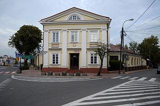 Grójec Place in Masovian Voivodeship, Poland