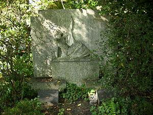 Eugen Mogk - Gravesite of Mogk at Südfriedhof (Leipzig).