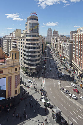 Image illustrative de l'article Gran Vía (Madrid)