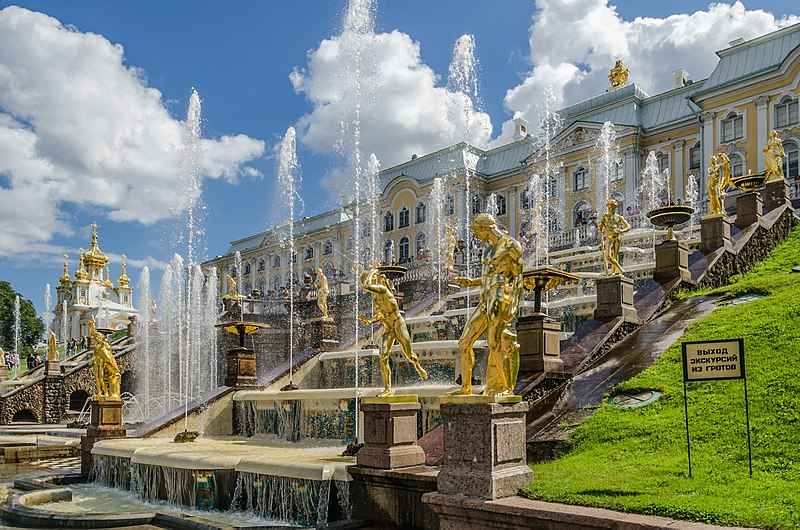File:Grand Cascade of Peterhof 01.jpg