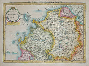 Grand duchy - The Grand Duchy of Tuscany (1569–1860, part of Italy afterwards)