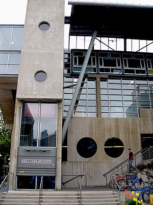 Emily Carr University of Art and Design - Emily Carr University of Art and Design, south building, main campus, Granville Island