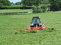 Grass cutting near Adderley, Shropshire - geograph.org.uk - 1594716.jpg