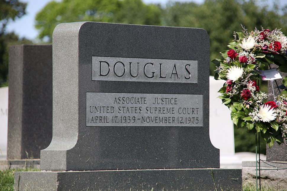 Grave of William O Douglas - Arlington National Cemetery - 2012-05-19