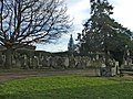 Graveyard at Waterfall Road Cemetery, Southgate, N14 - geograph.org.uk - 629436.jpg