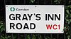 Roadsign with apostrophe