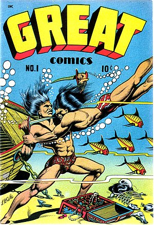 Cover scan of a Great Comics comic book