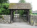 Great Longstone - Lych Gate Entrance to Cemetery - geograph.org.uk - 863939.jpg