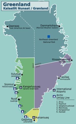 Risultati immagini per groenlandia cartina