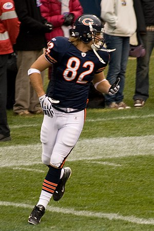 Greg Olsen (American football) - Olsen playing for the Bears in 2008.