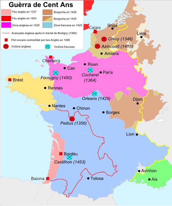 Guèrra de Cent Ans (1337-1453)