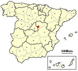 Guadalajara, Spain location