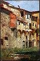 Gualtiero baynes, antiche case in piazza davanzati a firenze, 1890-1905 ca.jpg