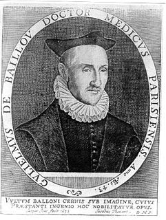 Guillaume de Baillou French physician and founder of modern epidemiology
