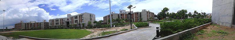 File:Gujarat Forensic Sciences University - Hostel View - panoramio.jpg