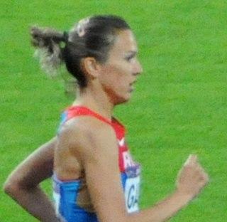 Gulnara Samitova-Galkina Russian middle-distance runner