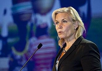 Gunilla Carlsson - Image: Gunilla Carlsson (politiker)