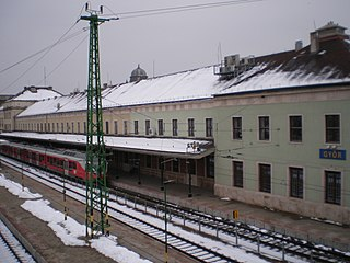Győr railway station