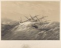 H.M.S. Simoon John Kingcome, Esqre. Captn R.N. Latitude 51o 31'N - Longitude 39o 30W May 4th 1852 RMG PY0945.jpg