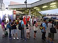 HK 尖沙咀 TST 梳士巴利道 Salisbury Road 天星碼頭公共運輸交匯處 Star Ferry Public Transport Interchange visitors queue KMBus stop October 2016 DSC 001.jpg